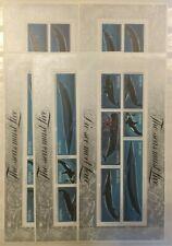 "Thématique, 5 Blocs de timbres "" Baleines "" neufs MNH, bien"