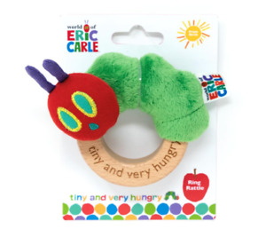 Tiny Caterpillar Ring Rattle - New The Very Hungry Caterpillar   FAST DISPATCH!