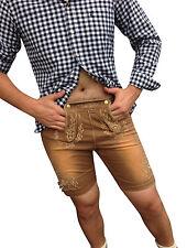 Kurze Herren-Jeans im Relaxed-Stil aus Denim