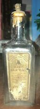 RARE MONTE CHRISTO PARUMERIE BOTTLE MAGIC HAIR TONIC BARBER SHOP L SHAW