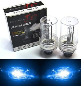 HID Xenon D2R Two Bulbs Head Light 10000K Blue Xenon Replace Lamp Low Beam Fit