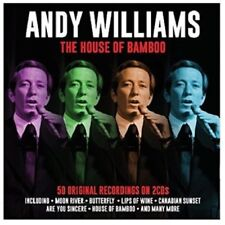 ANDY WILLIAMS - THE HOUSE OF BAMBOO  2 CD NEUF