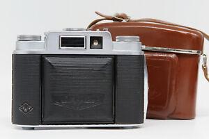 Agfa Isolette L w/Apotar 85mm 1:4.5 - Case - Excellent vintage condition