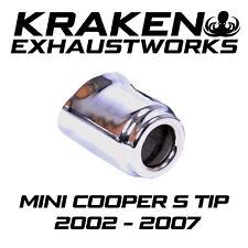 MINI COOPER S R52 R53 02-07 CHROME EXHAUST TIP SINGLE OE SPEC
