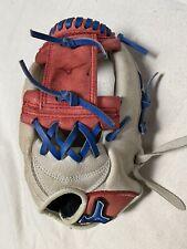 Mizuno Prospect Future Youth Baseball Glove 11.5 Right Hand Throw Red White Blue