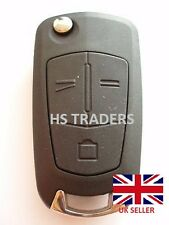 NEW For Vauxhall OPEL ASTRA VECTRA 3 Button Remote Flip Key Fob Case with blade*