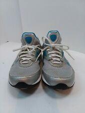 Reebok Easytone Womens Athletic Walking Toning Shoes Size 7.5 White Blue