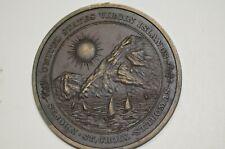 US Virgin Island Semi Centennial (1917-1967) Metal       Item #1948