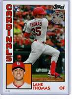 Lane Thomas 2019 Topps Update 1984 Topps 5x7 #84-23 /49 Cardinals