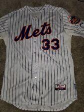 Matt Harvey New York Mets 2015 World Series Authentic Jersey Size 48 XL Majestic