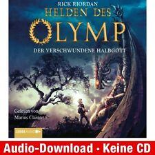 Hörbuch-Download (MP3) ★ R. Riordan: Helden des Olymp, Teil 1: Der verschwunden…