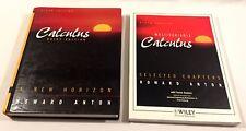 Calculus : A New Horizon Brief Edition by Howard Anton (1998, Hardcover) Bundle
