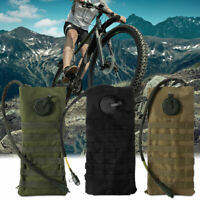 2.5L Molle Military Hydration Backpack Cycling Camping Hiking Riding Water Bag