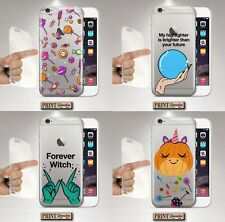 Cover For , Samsung, Clear, Silicone, Soft, Halloween, Cake, Witch, Cute