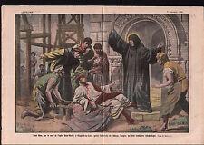 Tailleur de Pierre Eglise Saint Martin Glanfeuil-sur-Loire 1921 ILLUSTRATION