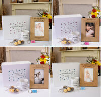 PERSONALISED Wooden FRAME Boxed SET Unusual GIFT Idea For Mother's Day Mummy MUM