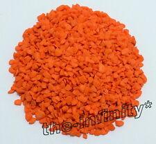 500g Orange Color Mini Stones Aquarium Fish Tank Gravel Pebbles Rock Decorative