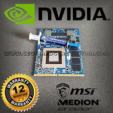 Upgrade ☛ NVIDIA GTX 870m ☛ MSI & Medion Erazer ✔ warranty 12 months