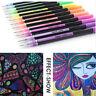 NEW 12/24/36/48 Color Gel Pen Set Refills Pastel Sketch Drawing Color Pen Marker