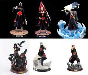 Naruto Shippuden Akatsuki members action figure toy models PVC Dolls figurines