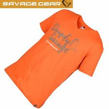 Savage Gear T-Shirt Simply Savage Tee Simply Savage Jaw Tee alle Größen