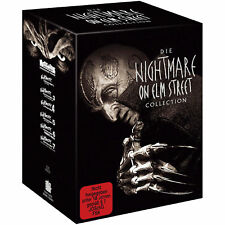 Complete Collection A NIGHTMARE ON ELM STREET Freddy Krüger Teil 1 - 7 DVD Box