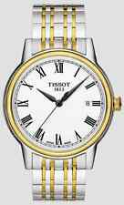 Tissot Carson Two-tone Stainless Steel Men's Watch T0854102201300 - NEW IN BOX