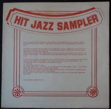 HIT JAZZ SAMPLER 2LP'S TEAL REC CO STH AFRICA HAWKINS, WEBSTER, STITT, SMITH,