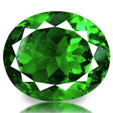 16.59 cts Natural Oval-cut Top Flashing Green VVS2 Natural Moldavite