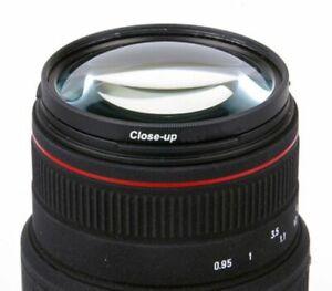 72mm Makro +8 Nahlinse Close Up Vergrößerung +8