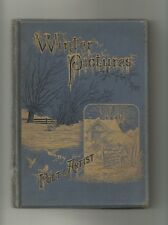 Winter Pictures Poets & Artist (Hardback cica 1875?) Religious Tract Society