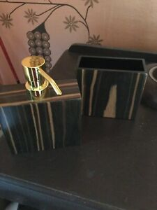 Zara Home Soap Dispenser And Toothbrush Holder