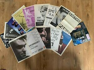 Large Selection of  Full Page - The Smiths & Morrissey Poster Adverts