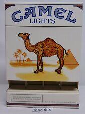 Camel Lights Hard Pack Cigarettes Large Store Display Box, 1990 Advertising