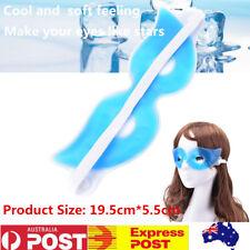 Cold Gel Eye Mask Eye Care Ice Compress Blue Gel Eye Fatigue Relief Cooling Mask