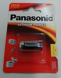 LOT DE 10 BATTERIE CR123 3V LITHIUM POWER PILE PHOTO DL123A, CR123A