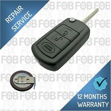 Land Rover Discovery 3 Remote Key Fob Repair / Recase / New Battery Fix Service