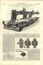 1892 più Braccio Radiale Perforatrice hetherington Manchester.