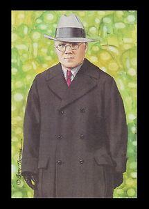 Joe Carr Goal Line Art Card NFL League Administrator