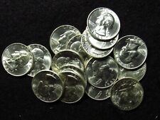 1953-D Washington Quarter 90% SILVER CHOICE BU+ FROM ORIGINAL ROLL