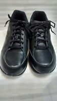 Mens Black Leather NEW BALANCE 409 Athletic Shoes - Size US 11.5 4E Extra Wide