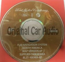 Ford Lincoln Mercury Navigation System GPS DVD Drive Disc 8L2T-10E989-AF Map Rel
