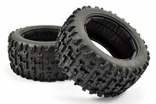 Fastrax 1/5 Jigsaw pneu (HPI Baja) + mousse Inserts (Paire)
