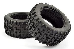 Fastrax 1/5 Jigsaw Tyre (HPI Baja) + Foam Inserts (Pair) #FAST1286