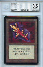 Magic the Gathering WOTC MTG Beta Crystal Rod NM-Mint+ BGS 8.5 Card 1993