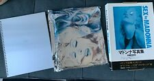 1992 MADONNA SEX Photo Book Japan Edition w/BOX (Japanese)