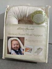 Eddie Bauer Baby 2-in-1 Head Support for Car Seats Strollers Swings Nip