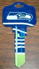 Great Gift Idea NFL SEATTLE SEAHAWKS KWIKSET KW1, KW10, KW11 UNCUT KEY BLANK