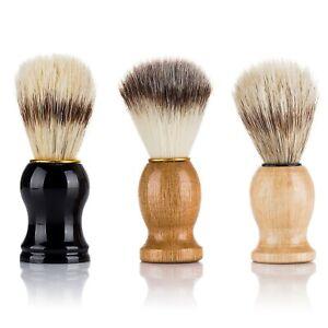 Men Beard Shaving Brush Barber Salon Facial Cleaning Grooming Appliance Shave