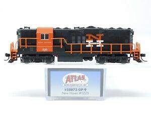 N Scale Atlas 50873 NH New Haven EMD GP9 Diesel Locomotive #1220 w/ DCC